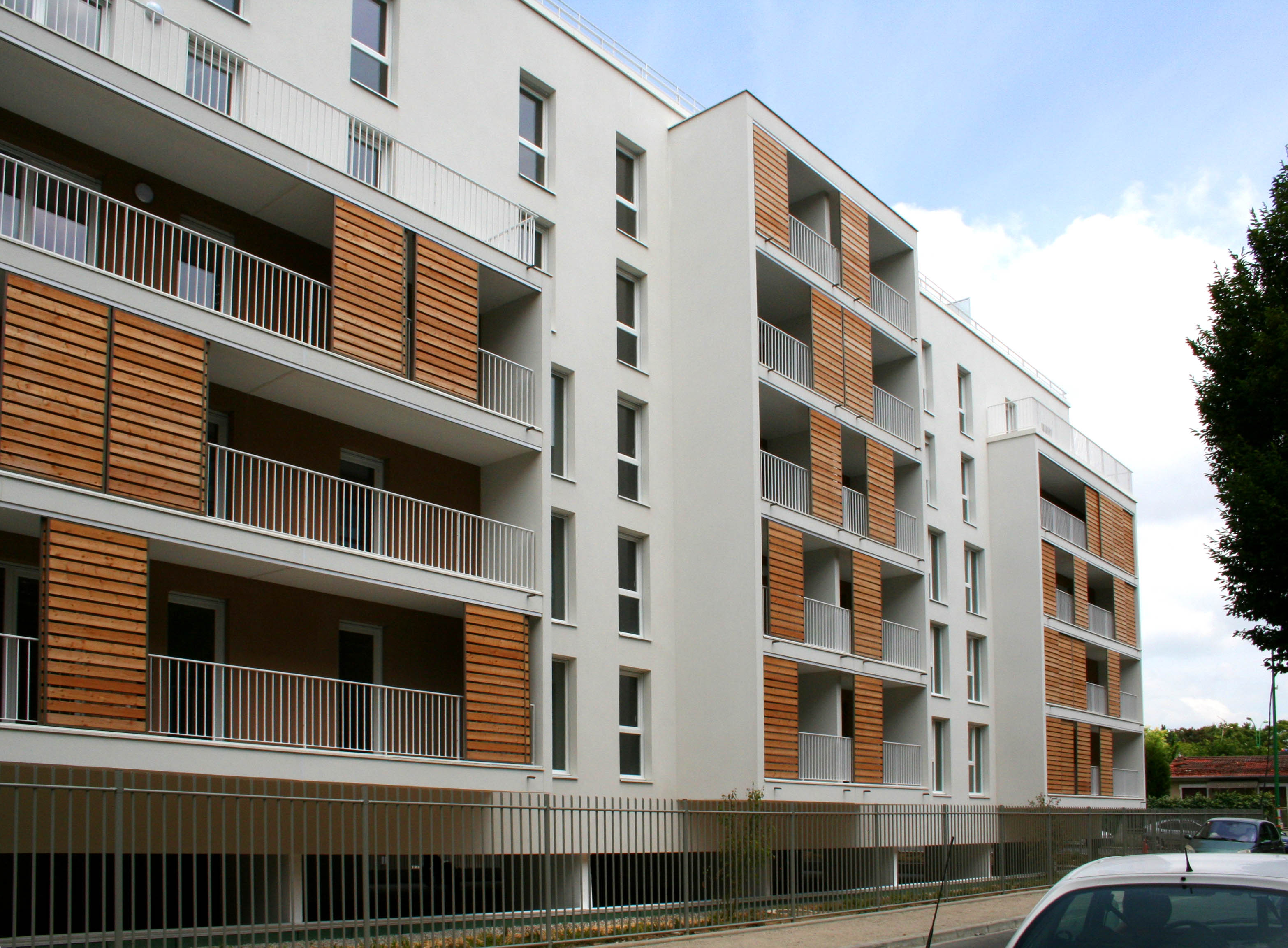 logements collectifs et commerces alfortville 94 fr. Black Bedroom Furniture Sets. Home Design Ideas